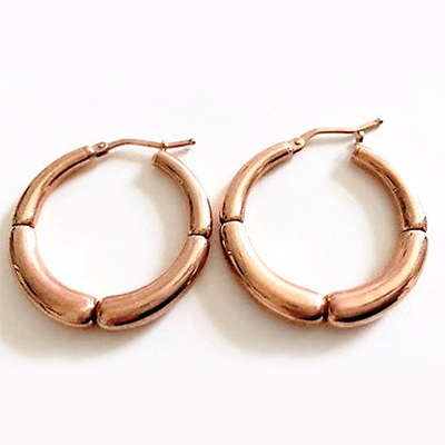 La ROSE BAMBU Hoops - SALE