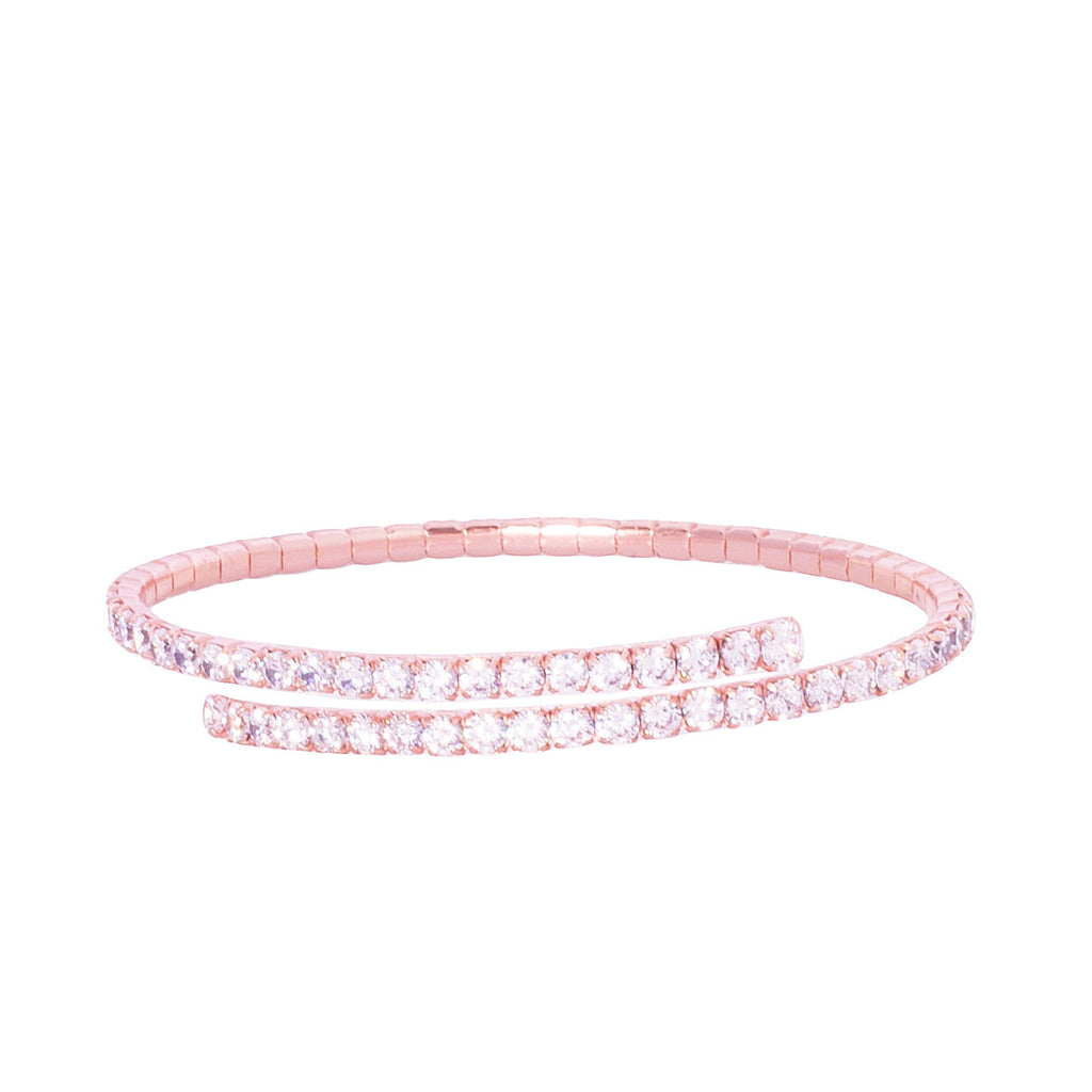 La SPARKLY Flexible cuff - rosegold