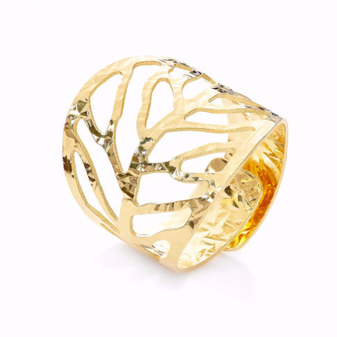 La FOGLIA Ring - Yellow