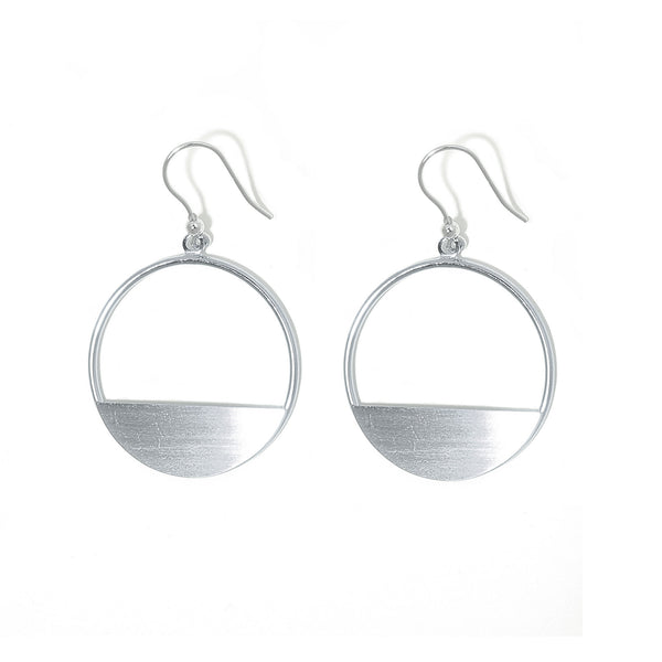 La MEZZALUNA Statement Earrings