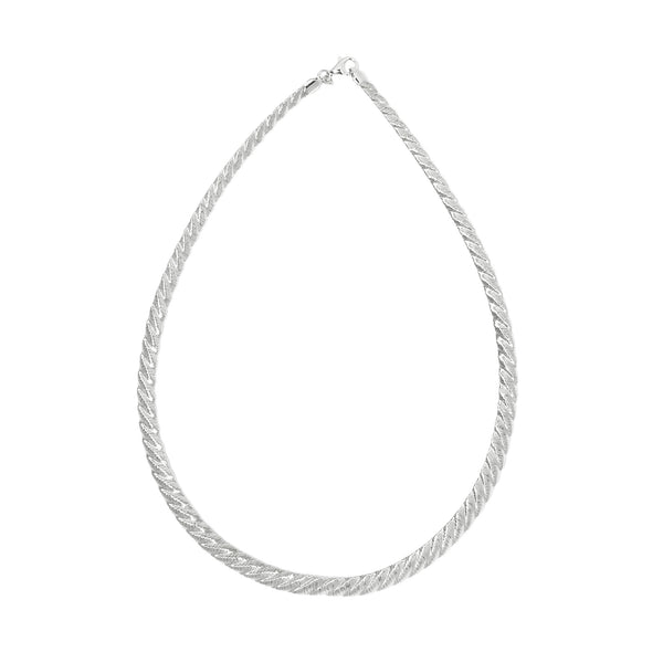 La CANDY TWIST Woven Collar (silver or yellow)