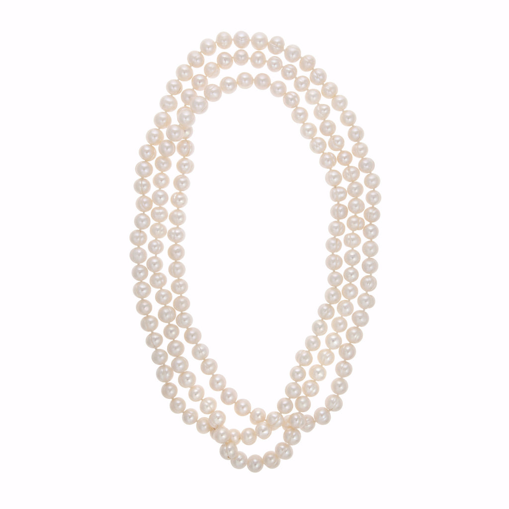 La BIANCA INFINITA Pearl Necklace
