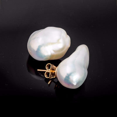 La BAROQUE Pearls - 18carat Earrings
