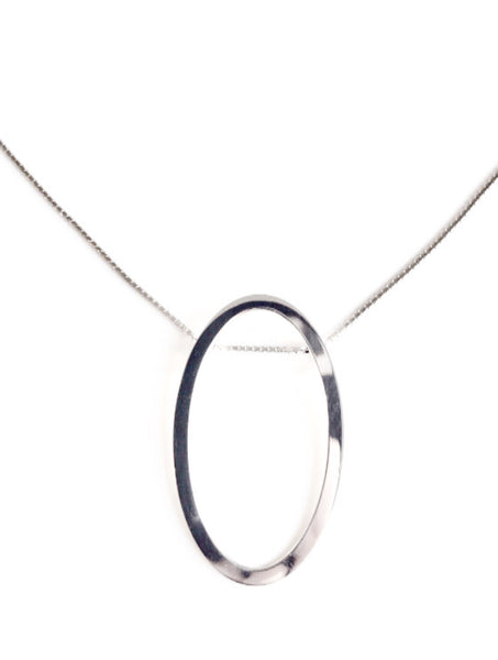 La GEOMETRIC 'OVAL' Necklace