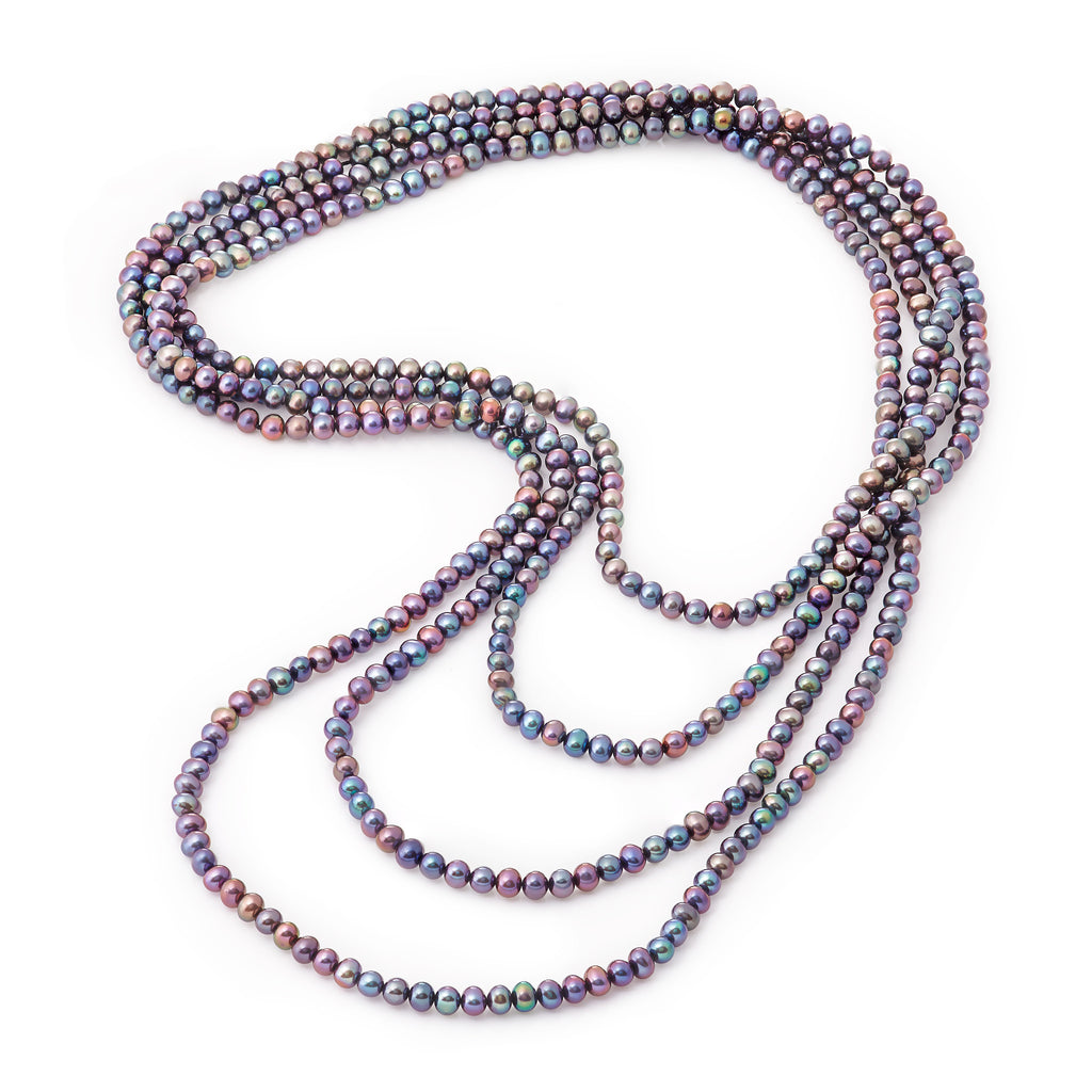 La PEACOCK ENDLESS PEARLS