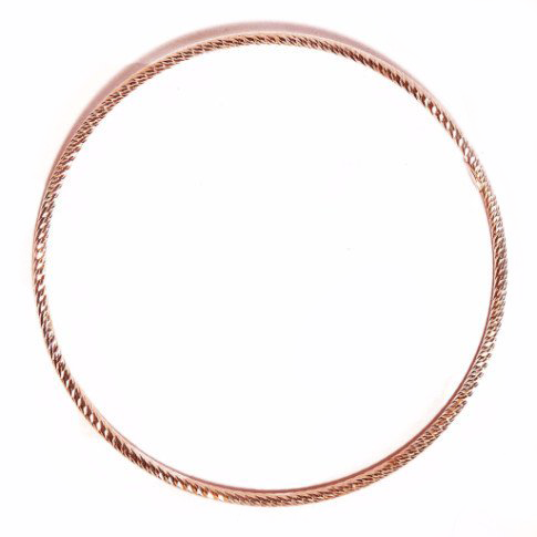 La ROMA DIAMOND-CUT Bangle - Rose