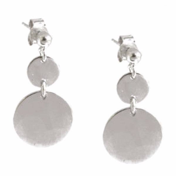 La SOFIA Double Disc Earrings