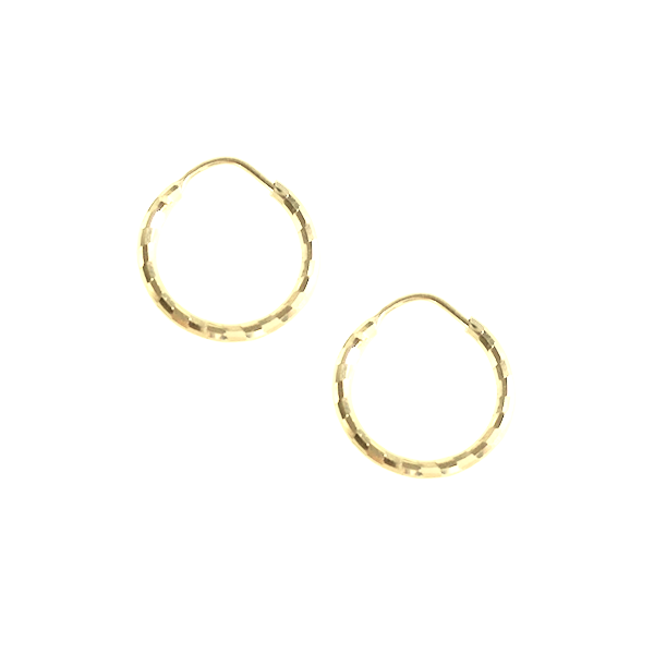 La CHEQUER-BOARD Hoops - Yellow