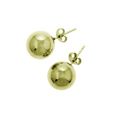 La ROSATA BALL STUD Earrings