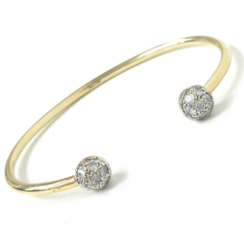 9ct Gold Torque Bangle