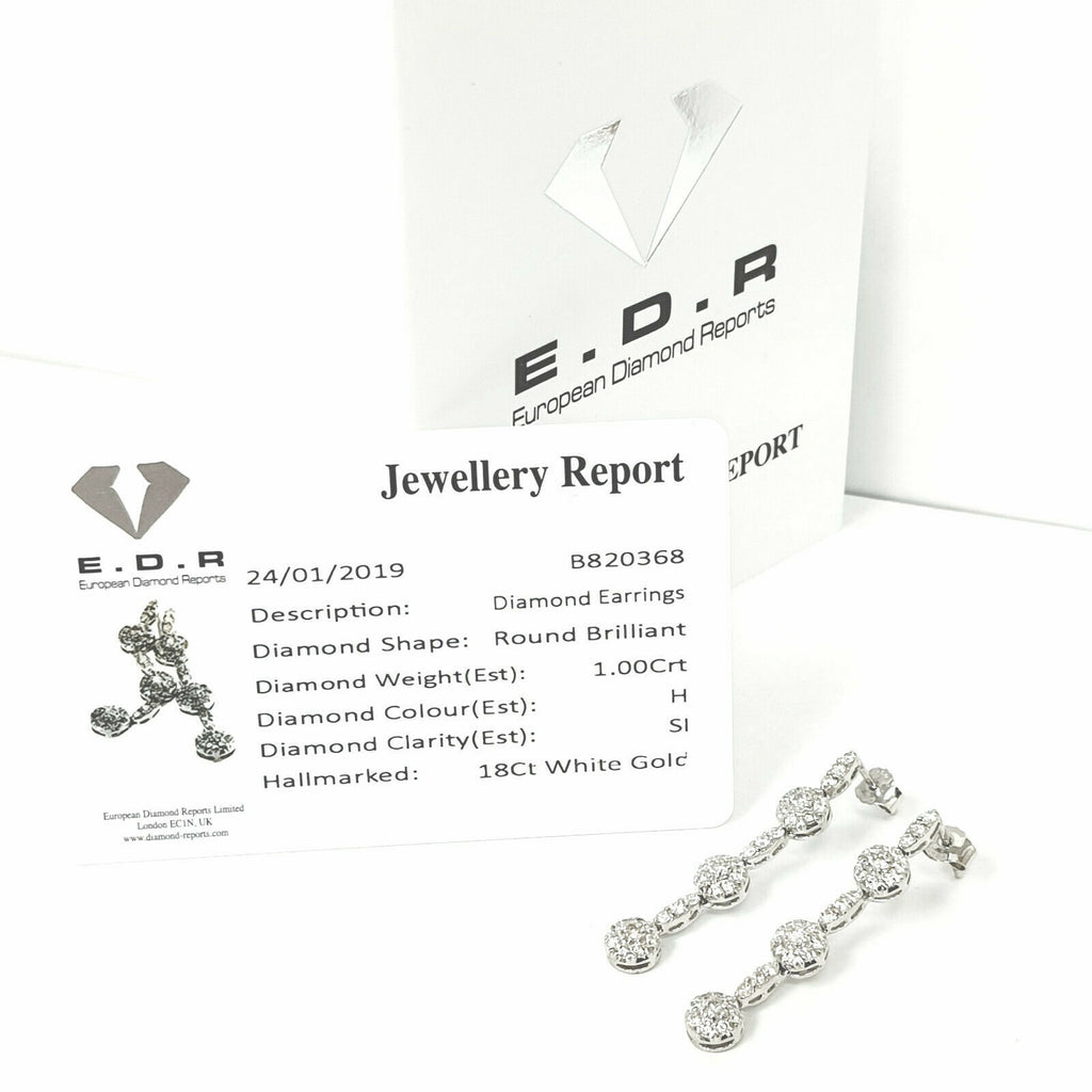 18ct White Gold Diamond Set