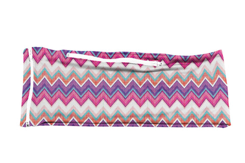 Purple Pink Plaid Chevron