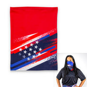 Stars and Stripes Scarf Mask | Non-Slip Headband | Made In America Limited Edition!