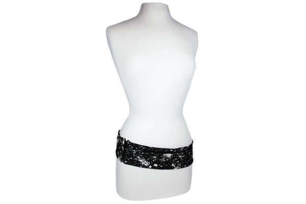 Paint Splatter Slim Fusion Belt