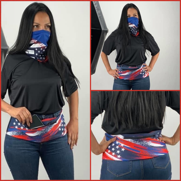 Stars and Stripes FusionBelt & Scarf Mask | Combo | Limited Edition!