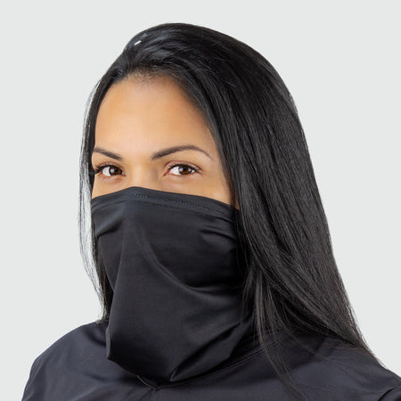 Black Scarf Mask | Headband
