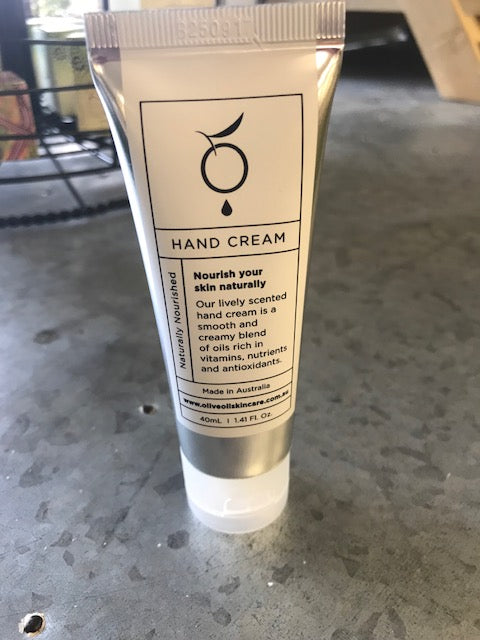 Hand Cream by Olive Oil Skin Care Co.