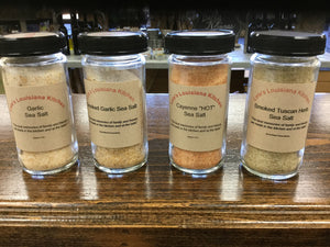 Seasonings:  Pepper, Salt & Salt-Free Options