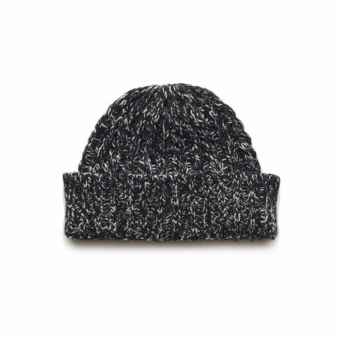 Wanderers Co 'Wool Cable Knit - Black' Beanie