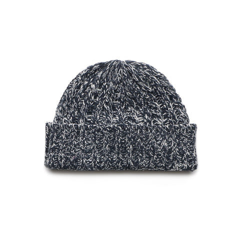 Wanderers Co 'Wool Cable Knit - Navy' Beanie