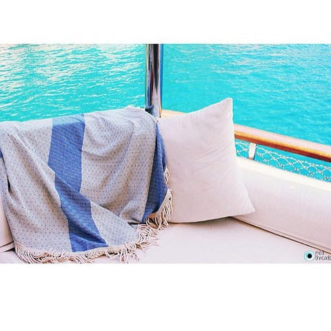 Med Threads - Med Threads 'Turkish Round' Towel - Towels - Stock & Supply Stores