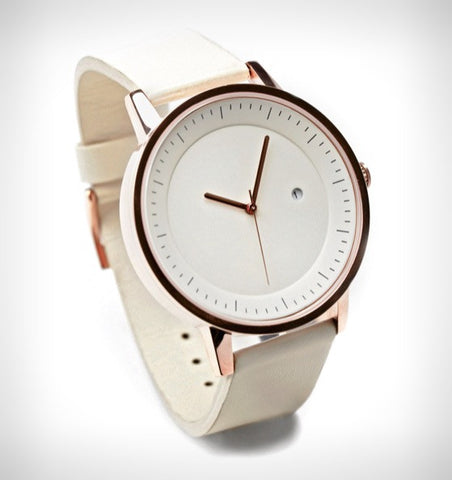Simple Watch Co - Simple Watch Co 'Earl - White/Rose Gold/White' Watch - Watch - Stock & Supply Stores