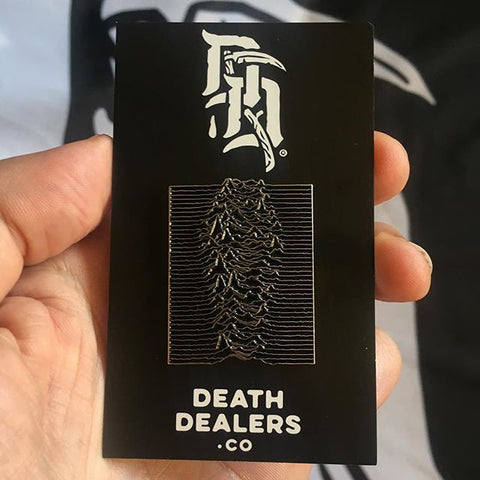 Death Dealers 'Only Pleasure' Badge Pin