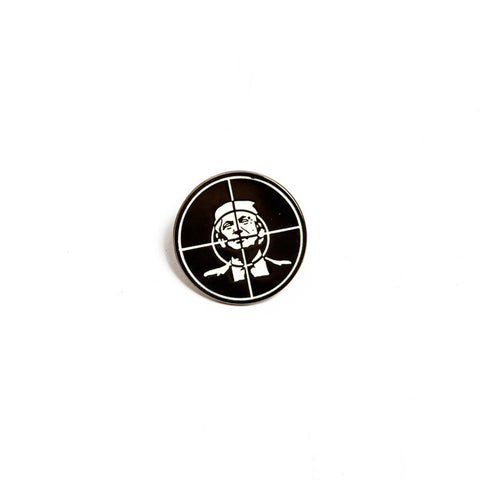 Death Dealers 'Public Enemy' Badge Pin