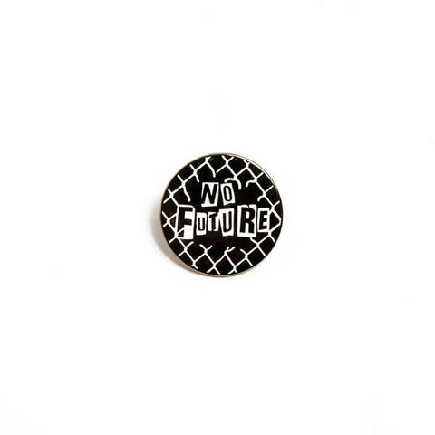 Death Dealers 'No Future' Badge Pin