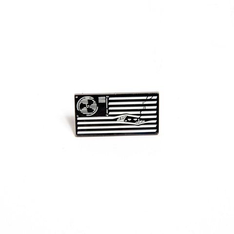 Death Dealers 'Paranoid States' Badge Pin