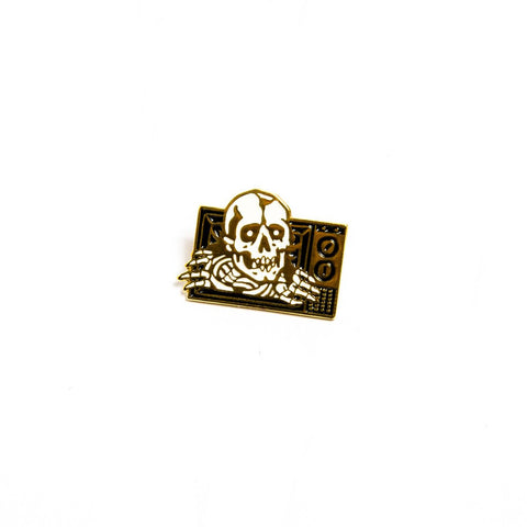 Death Dealers - Death Dealers 'Netflix and Chill' Badge Pin - Patches & Pins - Stock & Supply Stores