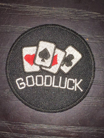 Patch & Pin 'Good Luck' Patch