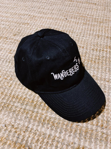 Wanderers Co 'Survey Crap Cap - Black/White' Cap