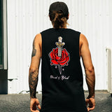 David & Goliath Clothing Co - David & Goliath 'Rose - Black' Muscle Tee - T-Shirt - Stock & Supply Stores