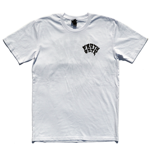 Gravy Brand - Gravy Brand 'Froth Bite - White' Tee - T-Shirt - Stock & Supply Stores