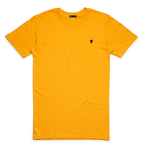 Turtl3 Co 'Embroidery - Yellow' Tee