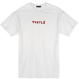 Turtl3 Co 'Throw - White' Tee