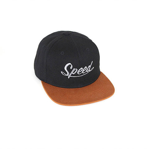 Bondi Speed Shop 'Speed Freak - Black/Tan' Cap