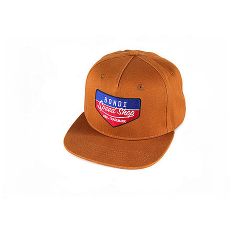 Bondi Speed Shop 'Petrol Head - Tan' Cap