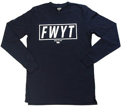 Dana - Dana 'FWYT - Navy' Longsleeve - T-Shirt - Stock & Supply Stores