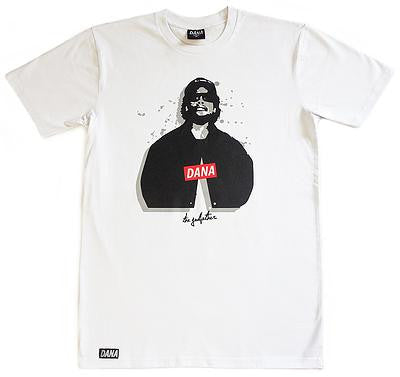 Dana - Dana 'Eazy - White' Tee - LAST ONE!!! - T-Shirt - Stock & Supply Stores