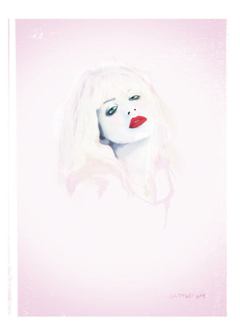 And Lizzy - And Lizzy 'Courtney Love - Hole' Print - Prints - Stock & Supply Stores