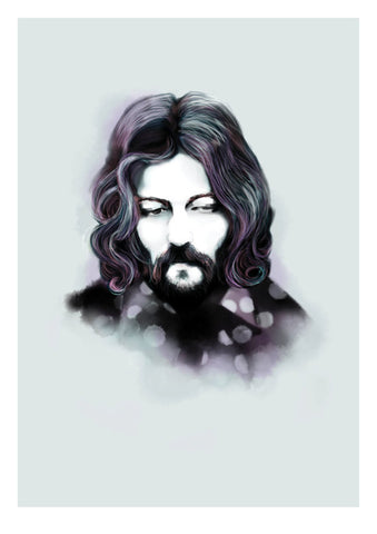 And Lizzy - And Lizzy 'Eric Clapton - Cream' Print - Prints - Stock & Supply Stores