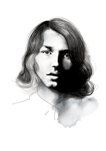 And Lizzy - And Lizzy 'Jack Kilmer - Palo Alto' Print - Prints - Stock & Supply Stores