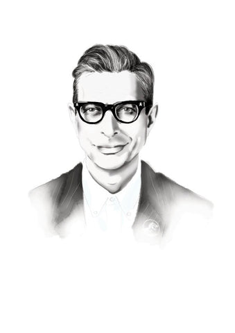And Lizzy - And Lizzy 'Jeff Goldblum' Print - Prints - Stock & Supply Stores