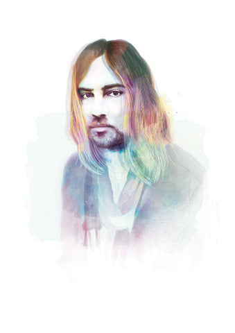 And Lizzy - And Lizzy 'Kevin Parker' Print - Prints - Stock & Supply Stores