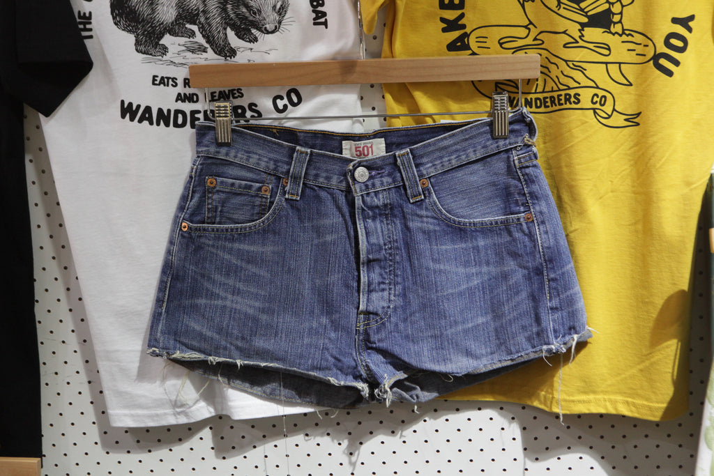 249abf7ea37 Vintage and Preloved 'Addy' Levi 501 Denim Shorts – Stock & Supply Stores