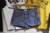 Vintage and Preloved 'Addy' Levi 501 Denim Shorts