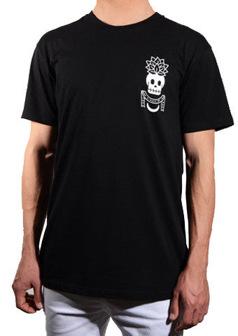 A.O.T.R 'Pineapple Skull - Black' Tee - LAST ONE!!!