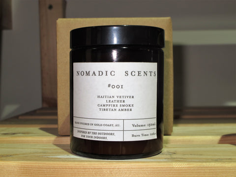 Nomadic Scents '#001 - Amber Jar' Candle